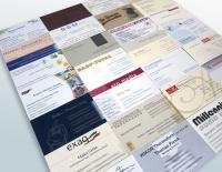 Visitenkarten gestalten, Offsetdruck