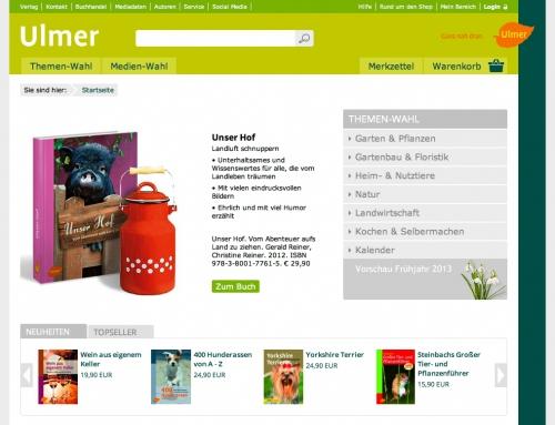 Frühling beim ULMER Verlag