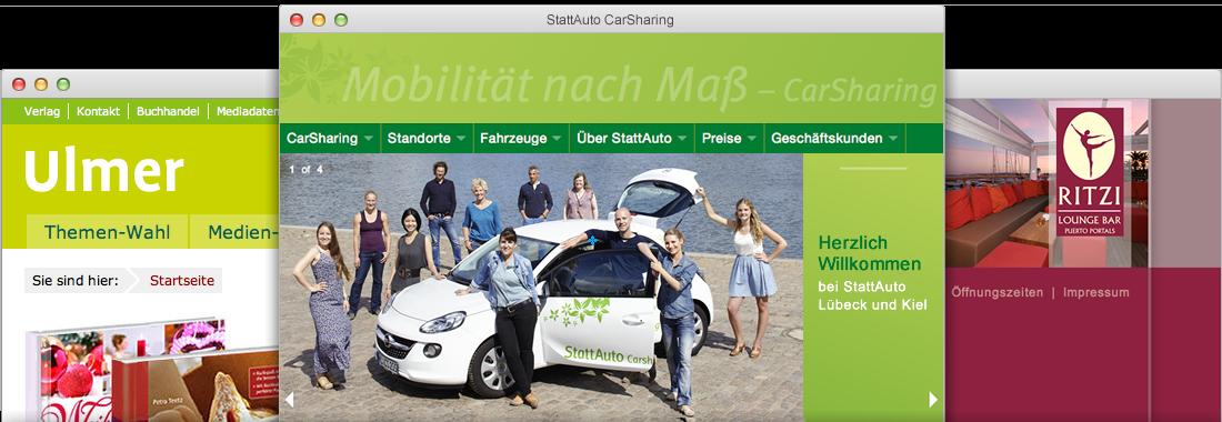 Webdesign von apw-media Lübeck