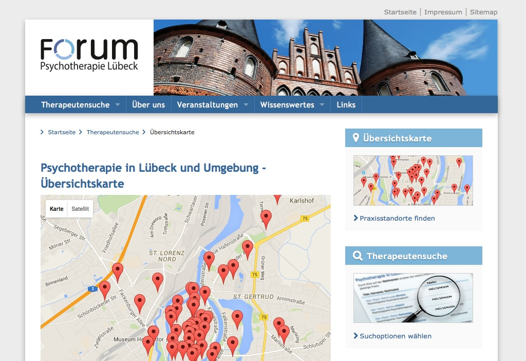 Psychotherapie in Lübeck