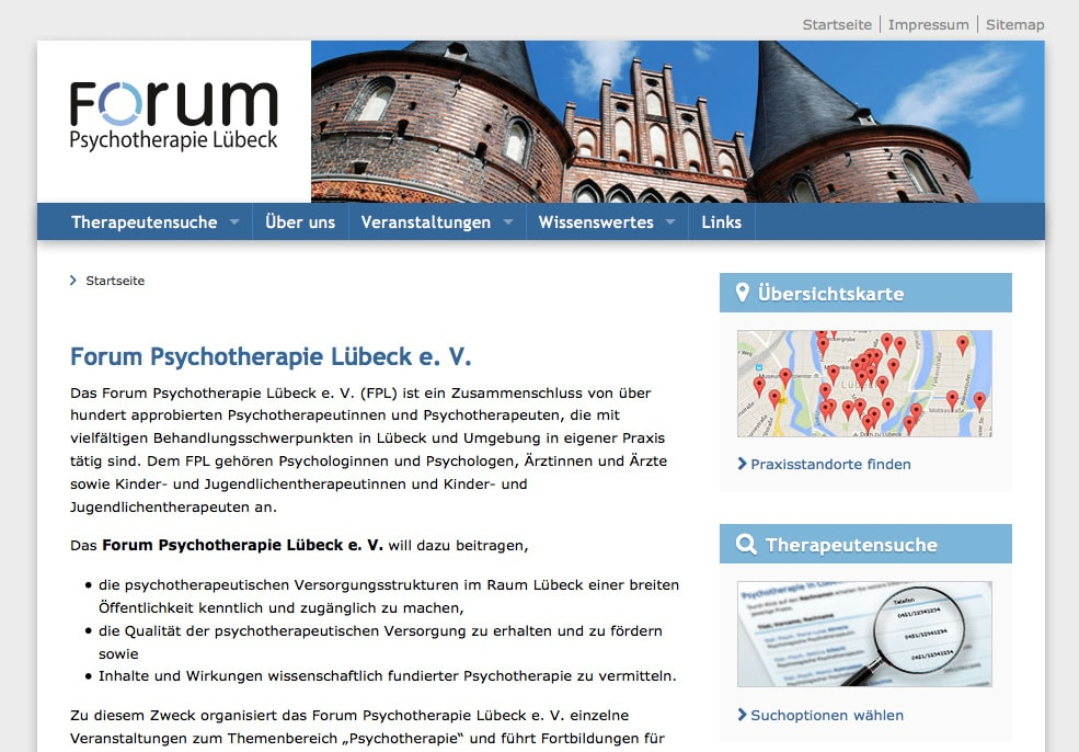 Psychotherapie in Lübeck