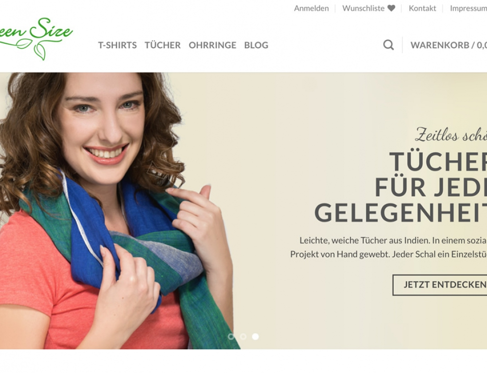 Green Size Online-Shop