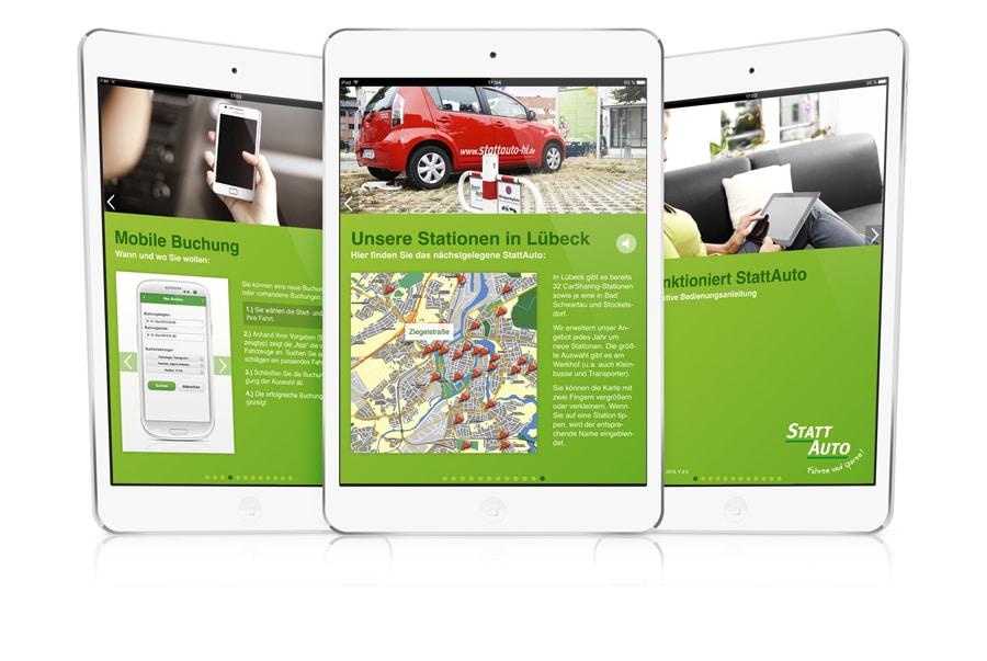 iPad WEB-App Programmierung
