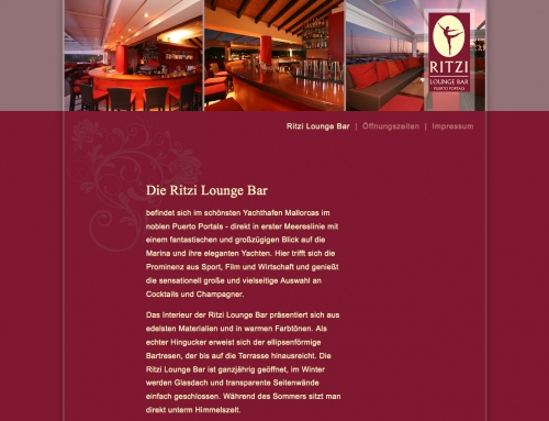 WEB-Visitenkarte Lounge Bar