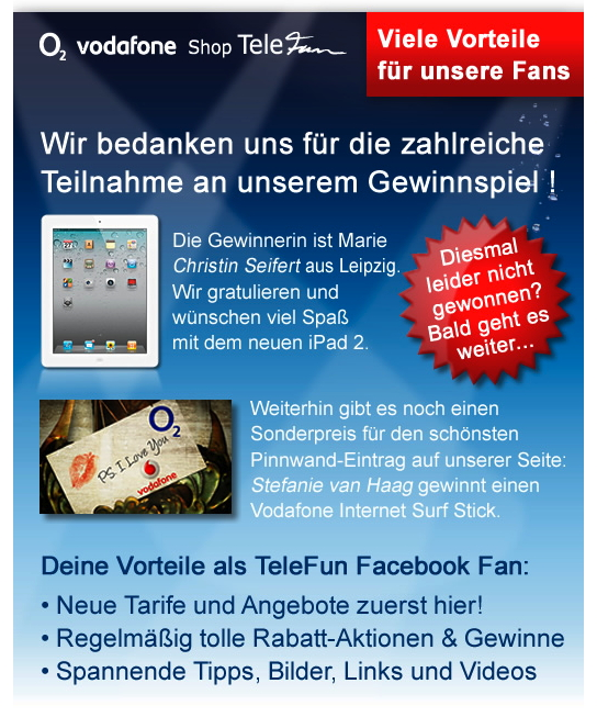 Facebook Gewinnspiel Telefun