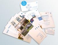 Drucksachen: Visitenkarten, Flyer, Broschüren, Einladung