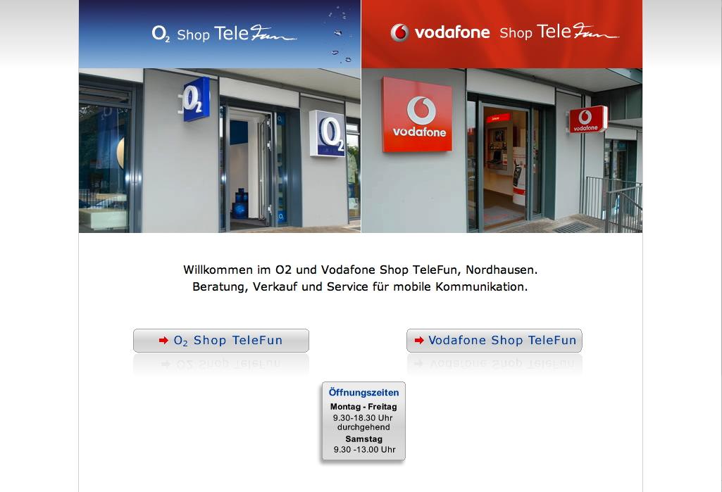 Website Telefun Nordhausen