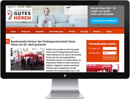 TYPO3 Website von apw-media aus Lübeck