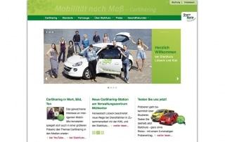 Website CarSharing