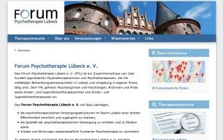 Webdesign mit TYPO3 - Psychotherapie in Lübeck