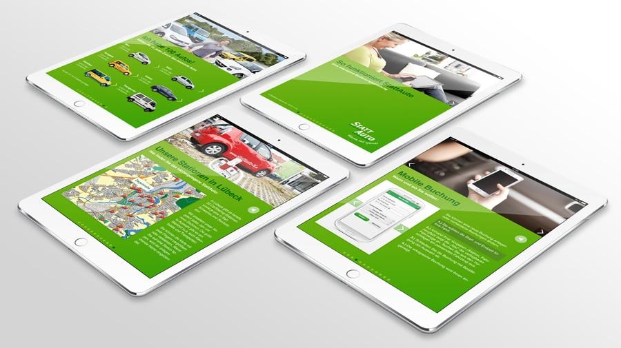 iPad WEB App mit HTML5 und Javascript