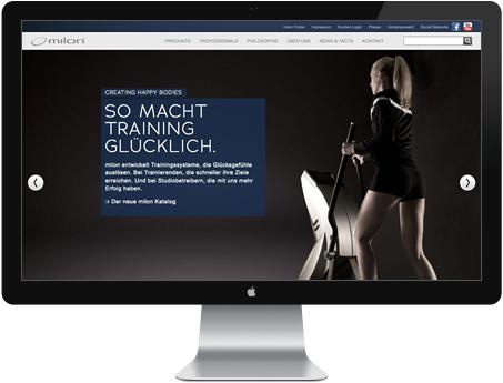 Website Fitnessgeräte