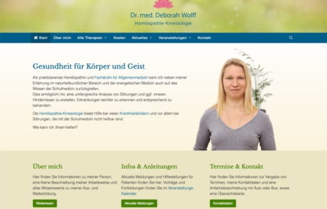 Website Webdesign mit WordPress aus Lübeck