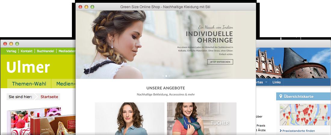 Webdesign aus Lübeck - Online-Shops