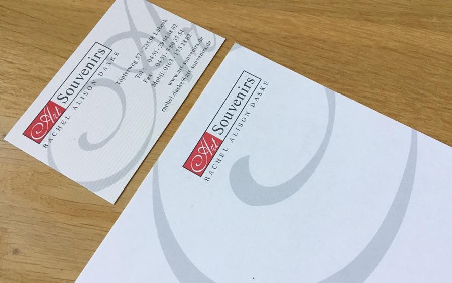 Visitenkarten Flyer Broschüren Drucksachen Aus Lübeck