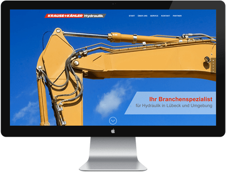 Webdesign Lübeck Hydraulik WordPress