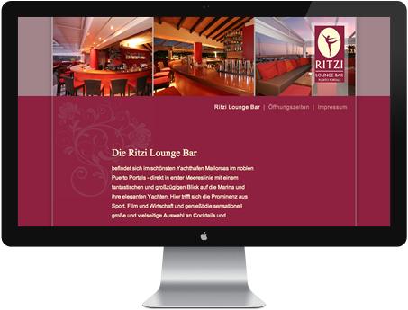 Webvisitenkarte Bar - Cafe