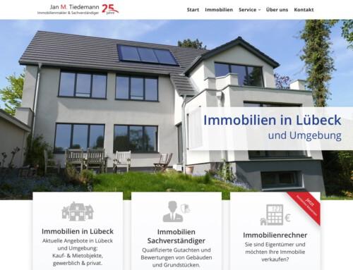 Immobilien Website mit WordPress