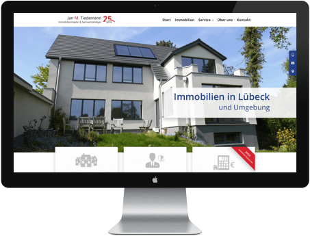 Individuelle Gestaltung von Internetseiten in Lübeck
