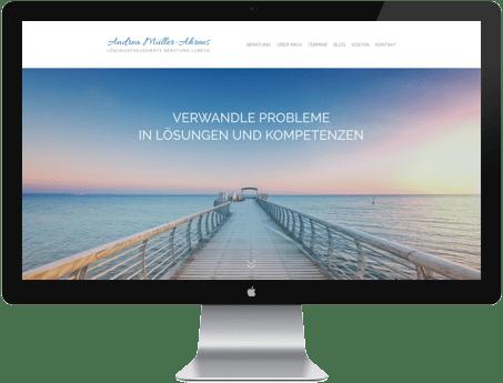 Webdesign Neue Rösterei e.V. Lübeck von apw-media