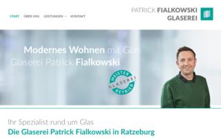 Glaserei Ratzeburg Webdesign