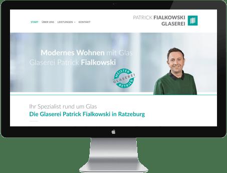 Glaserei Website WordPress