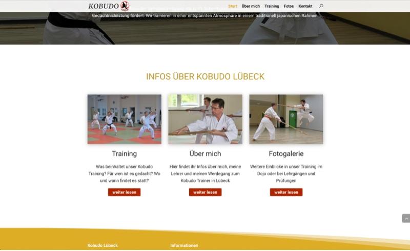 Webdesign Lübeck WordPress Kampfsport